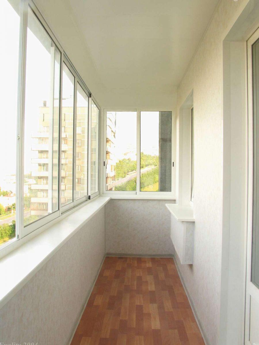 Фотогалерея - отделка балкона..